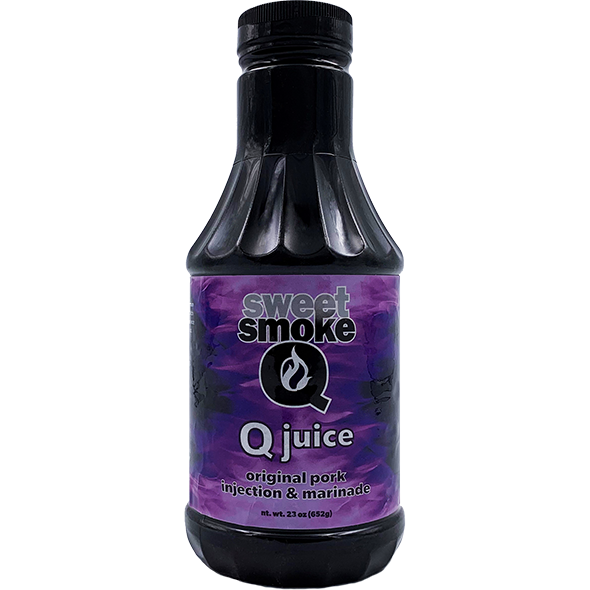 Sweet Smoke Q Juice Original Pork Injection Concentrate 23 oz. - The Kansas City BBQ Store