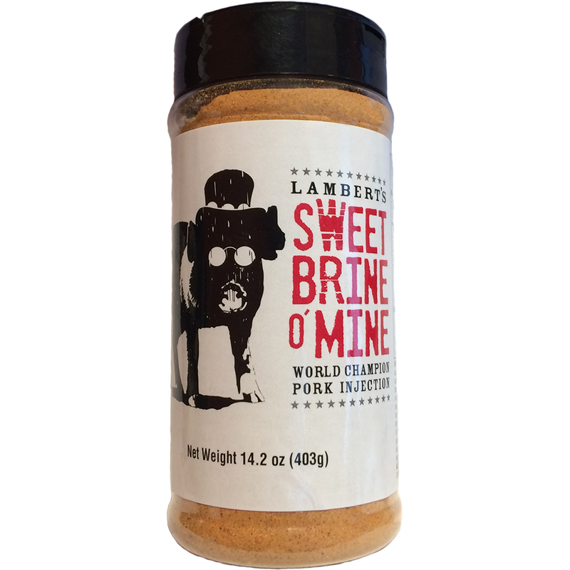 Sweet Brine O' Mine World Champion Pork Injection 14.2 oz. - The Kansas City BBQ Store
