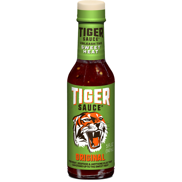 TryMe Tiger Sauce The Original 10 oz. - The Kansas City BBQ Store