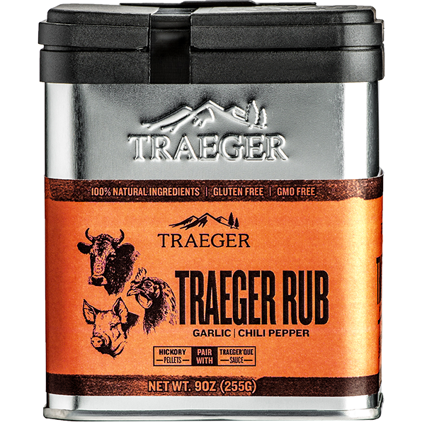 Traeger BBQ Rub 9 oz. - The Kansas City BBQ Store