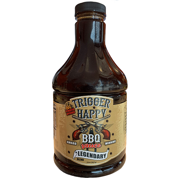 Trigger Happy BBQ Sauce 32 oz.