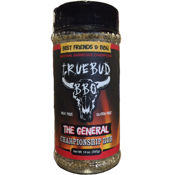 TRUEBUD The General Championship Rub 14 oz.