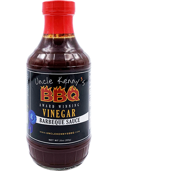 Uncle Kenny's BBQ Vinegar Barbeque Sauce 20 oz.
