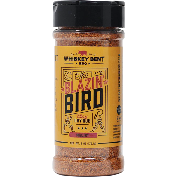Whiskey Bent BBQ The Blazin' Bird 6 oz.