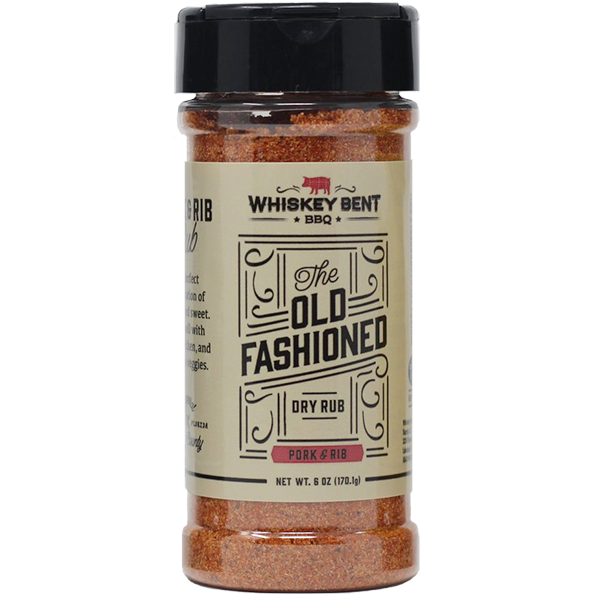 Whiskey Bent BBQ The Old Fashioned 6 oz. - The Kansas City BBQ Store