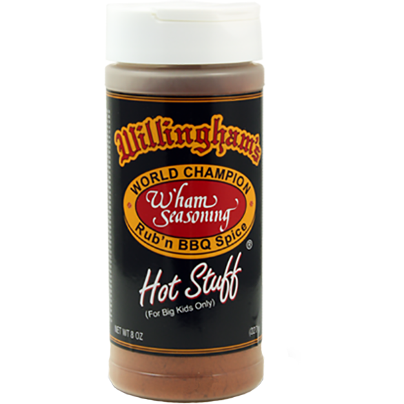 Willingham's Hot Stuff Rub  8 oz.