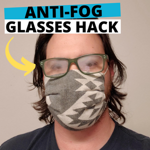 Anti-Fog Glasses Hack by @DoctorEyeHealth