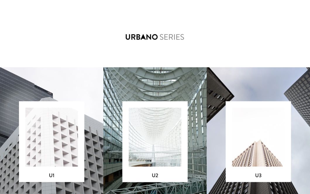 Urbano Series Lightroom CC Preset