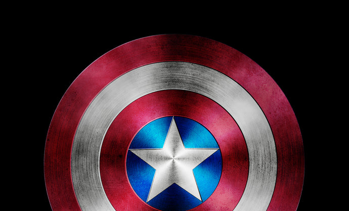PSD Source File for the Super Hero Shield Photoshop Tutorial