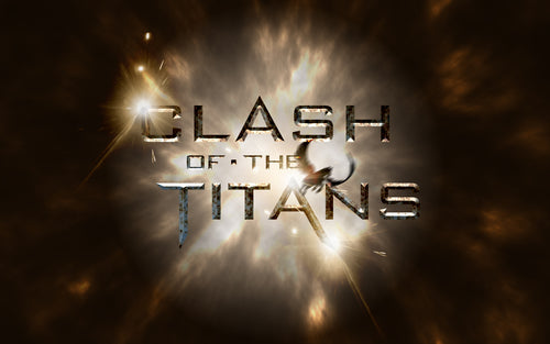 PSD File for Clash of the Titans Text Effect in Photoshop