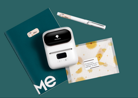 Difficult to handle clothing inventory? Do you need an M110 mini printer