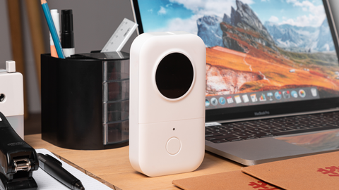 Vacation syndrome? D30 mini bluetooth printer helps you find the status