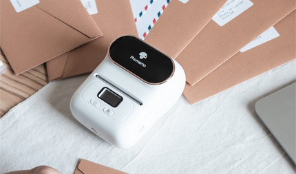 From inefficiency to smart, M110 portable thermal printer gives you the most needed tobacco label solution