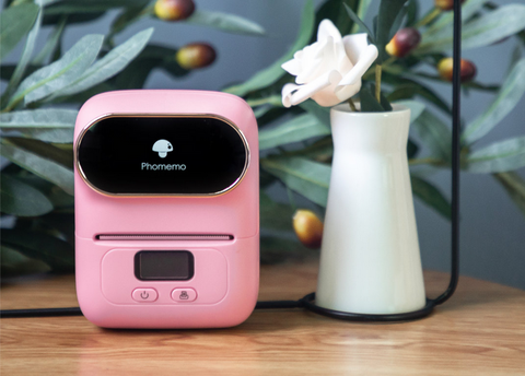 How to use M110 mini bluetooth printer to make more people fall in love with your flower shop?