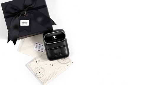 "Use M110 pocket printer to open a clothing store to make clothes ""expensive"""