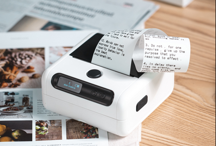 Use M200 mini label printer to manage supermarket merchandise and make money easily