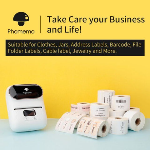 take care of business with M110 label maker