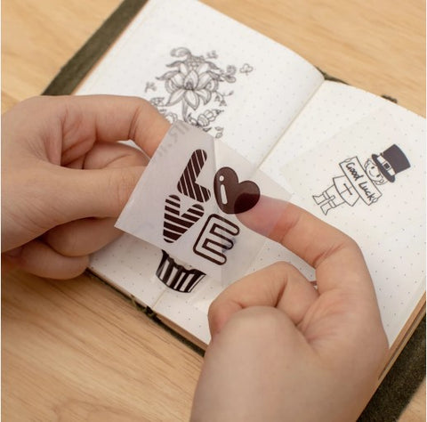 cute stickers with m02 printer