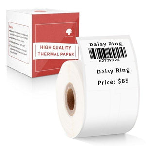 Jewelry Price Label Self-Adhesive- Compatible for Phomemo M110 Label Printer-1 Roll of 100 Labels 25x30mm