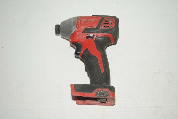 "Milwaukee 2656-20 M18 1/4"" HEX Impact Drill Driver Bare Tool USED U979"