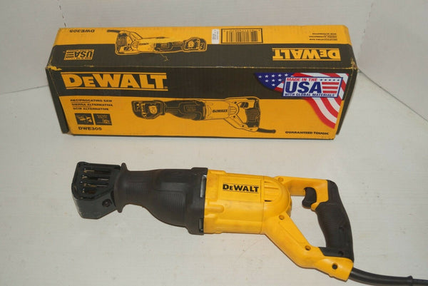DeWalt DWE305 12 Amp Corded Reciprocating Saw with box