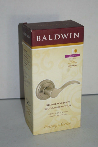 Baldwin 351TBL RH RDB 15 Tobin Right-Handed Dummy Lever Satin Nickel - [home-and-tool].