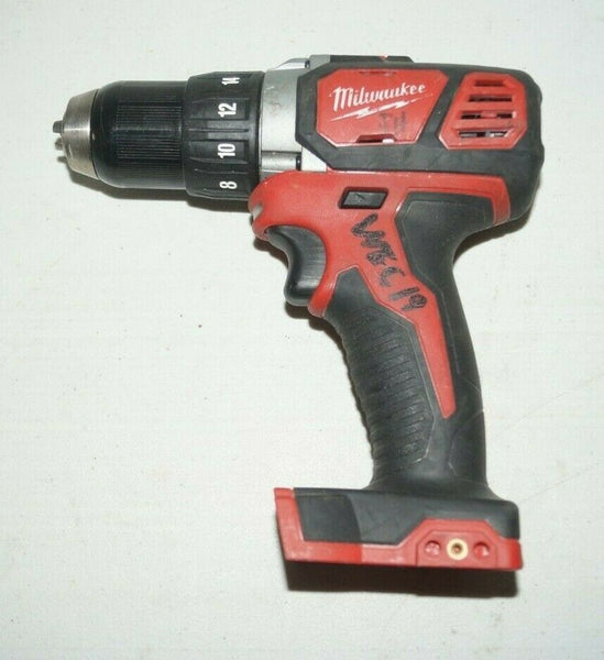 "Milwaukee 2606-20 M18 18V Compact 1/2"" Drill/Driver USED U440"