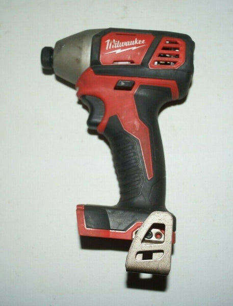 "Milwaukee 2656-20 M18 1/4"" HEX Impact Drill Driver Bare Tool USED U78"