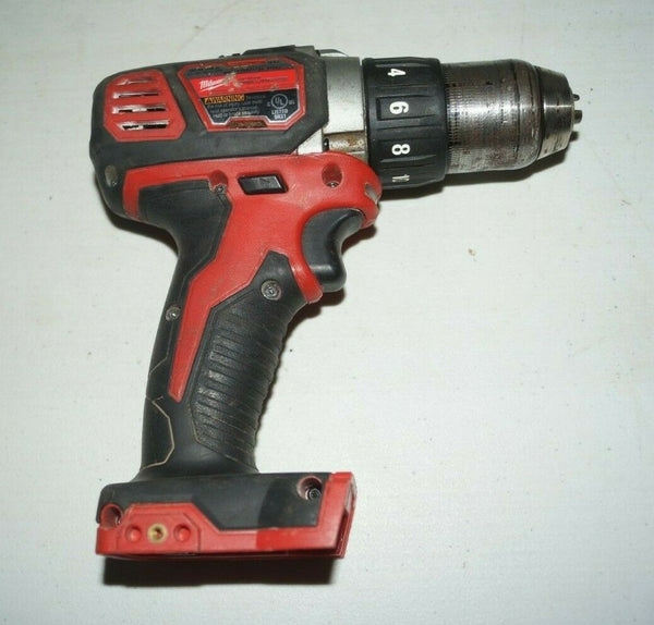 "Milwaukee 2606-20 M18 18V Compact 1/2"" Drill/Driver USED U452"