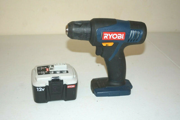 Ryobi 12V Cordless Power Drill & Battery #CD100 - [home-and-tool].