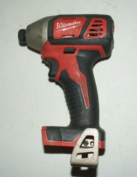 "Milwaukee 2656-20 M18 1/4"" HEX Impact Drill Driver Bare Tool USED U879"
