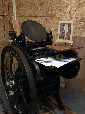 Letterpress for the Esoteric Book Fair at Mortlake & Co.