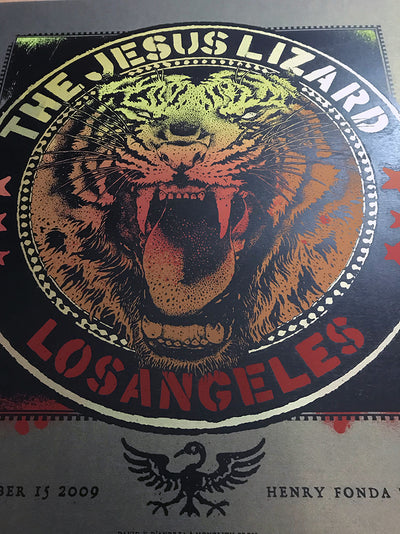 Jesus Lizard : Los Angeles 2009 : Metallic Variant