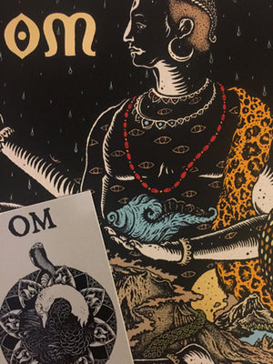 OM : Indra : Mini Print with Sticker