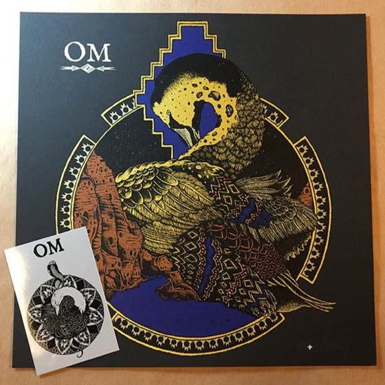 Om Albuquerque : mini print & sticker