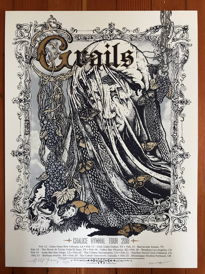 Grails : Chalice Hymnal Tour 2018