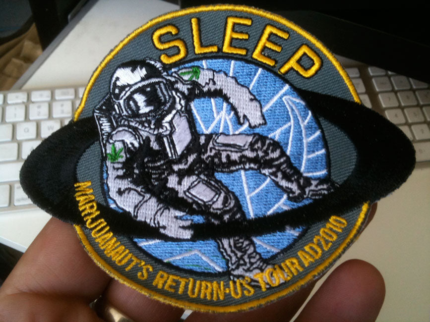 Sleep: Marijuanaut's Return 2010: embroidered patch
