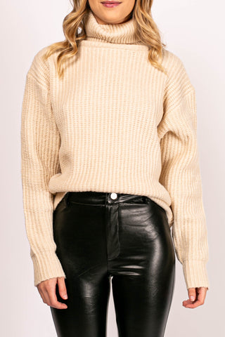 Jersey Knit V-Neck Bodysuit (Black)