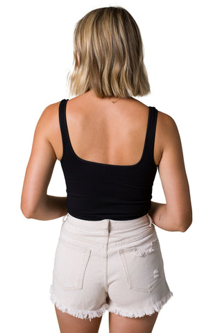 Feels Like Summer Top (Black)