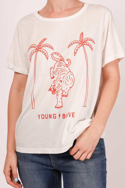 Young & Brave Foundation Tee