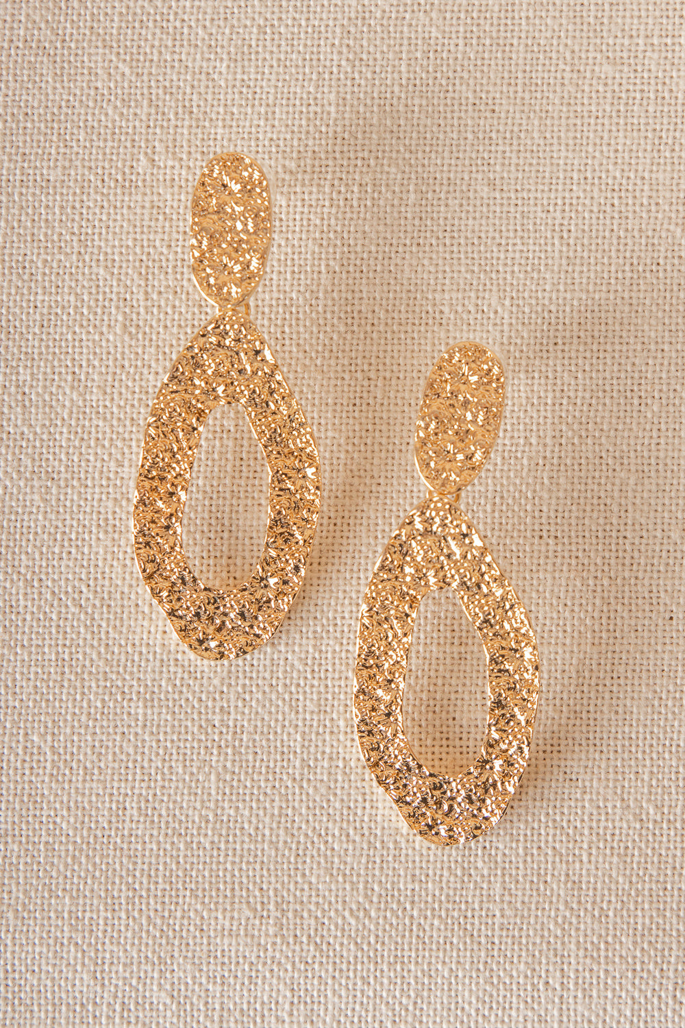 Gold Glamour Earrings