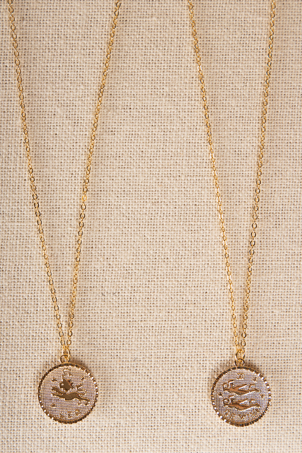 Zodiac Round Necklace