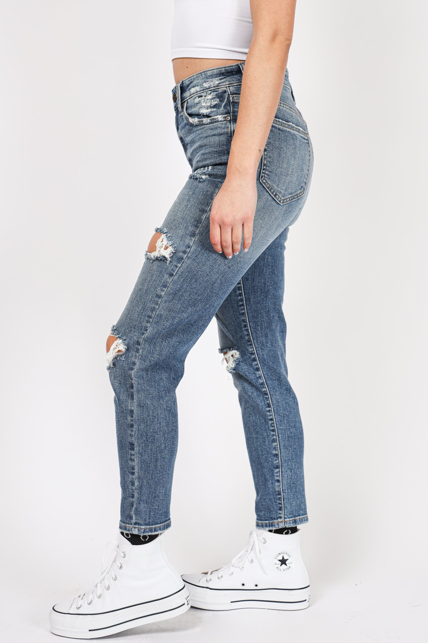 Demi Distressed Denim