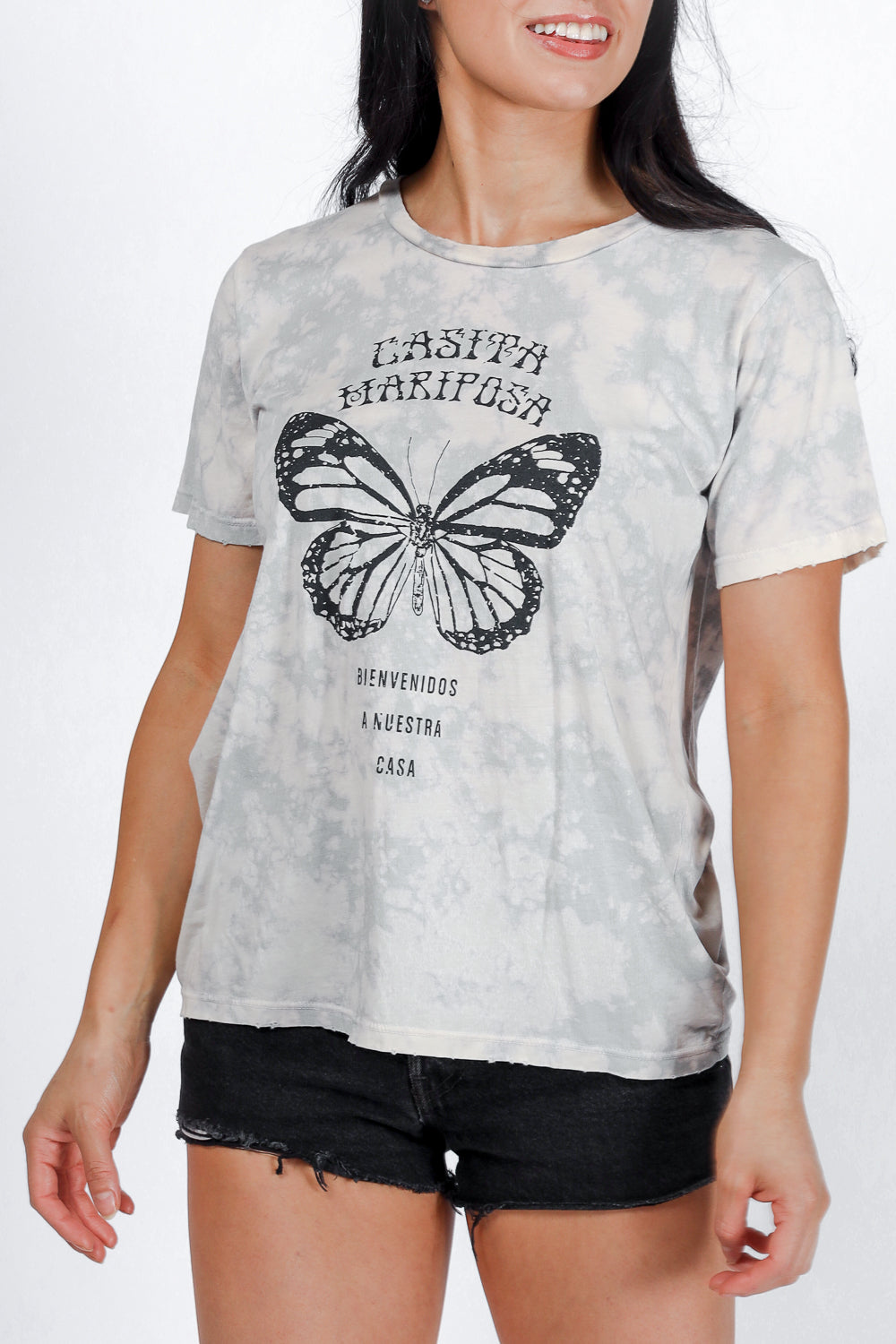 Casita Mariposa Distressed Tee PREORDER