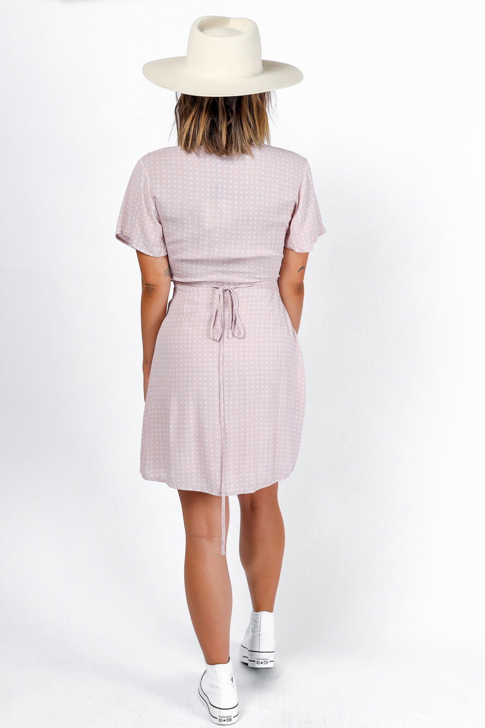 On the Dot Wrap Dress