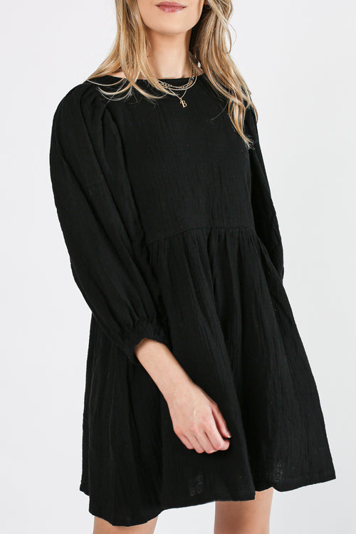 For the First Time Dress (Black)