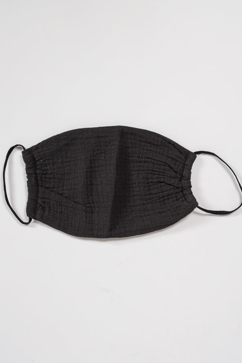 Cotton Light Weight Mask (Charcoal Grey)
