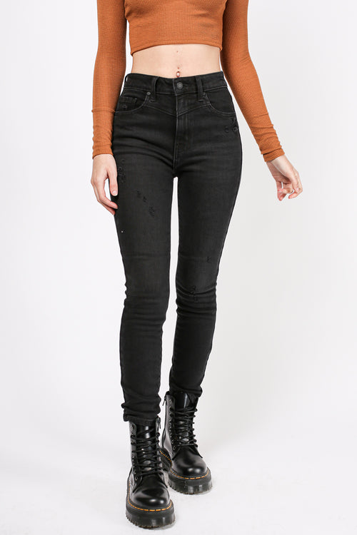 Harley High Rise Denim (Black)