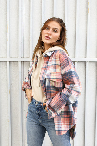 Fair and Square Flannel Jacket