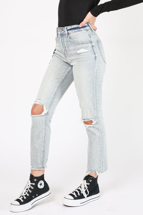 Non-Stop Crop Denim